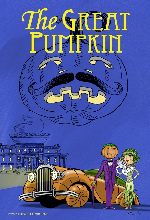 The Great Punpkin Cartoon