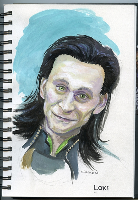 Loki by Chrisitna Wald