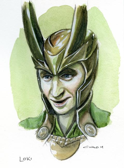 Loki by Chrisitna Wald