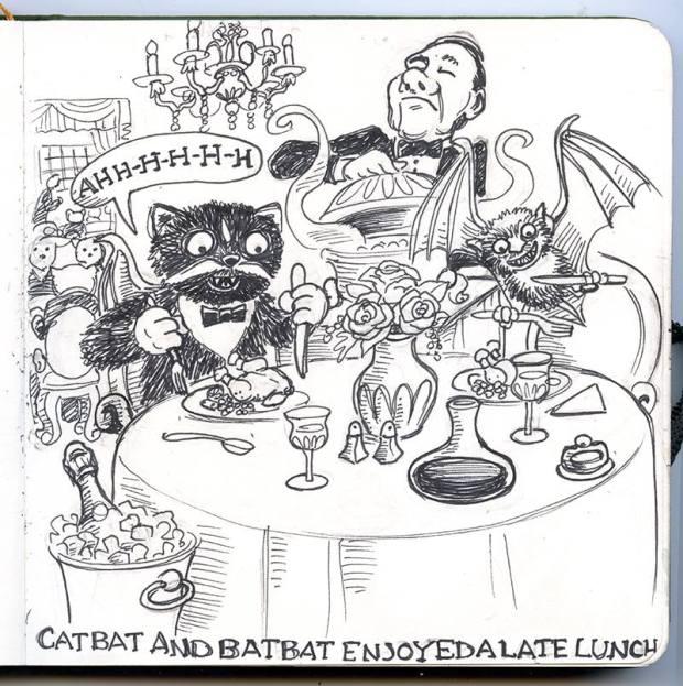 CWald CATBAT DINNER